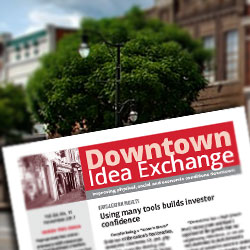 Connecting people and ideas to improve physical, social and economic conditions downtown.